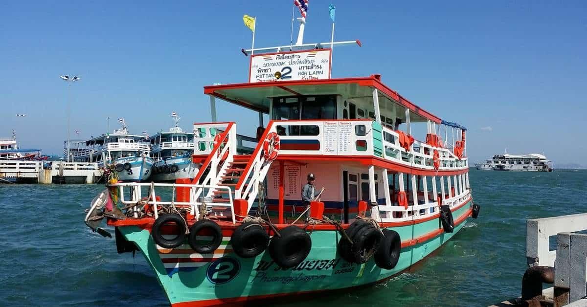 Ferry from Ko Samui to Ko Phangan