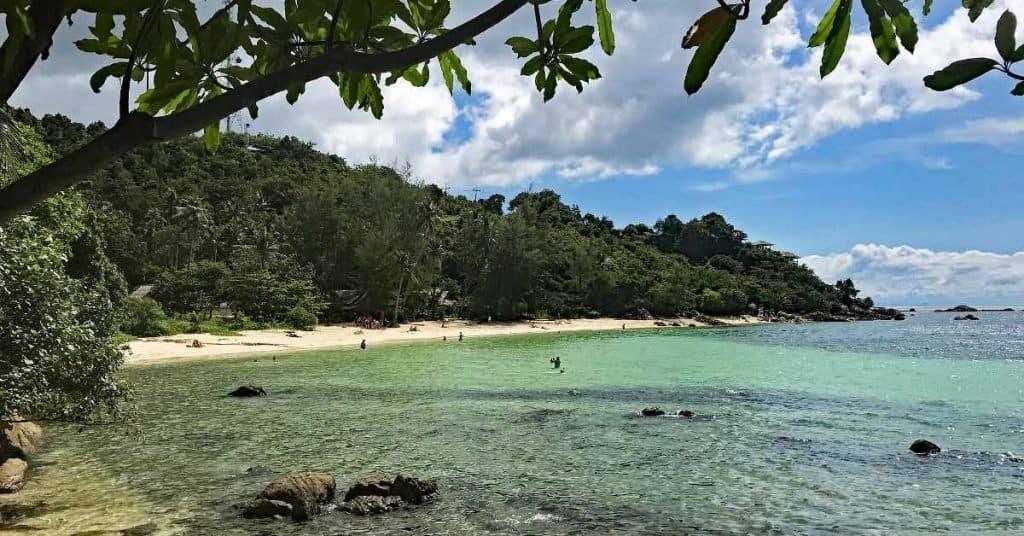 haad son secret beach koh phangan