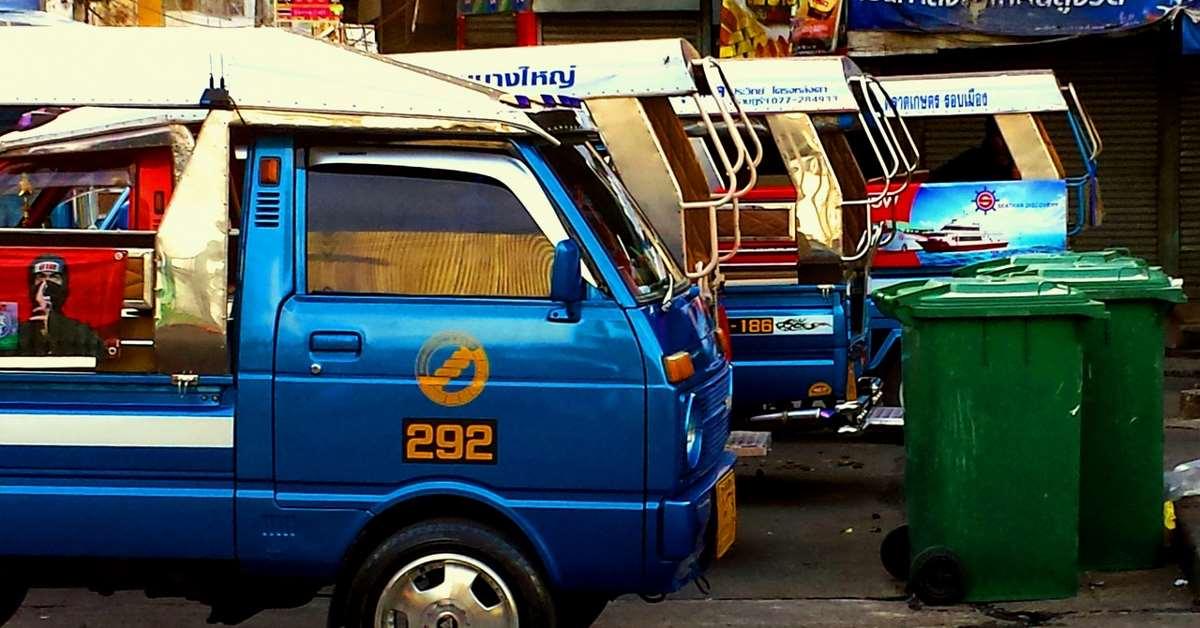 transportation in thailand